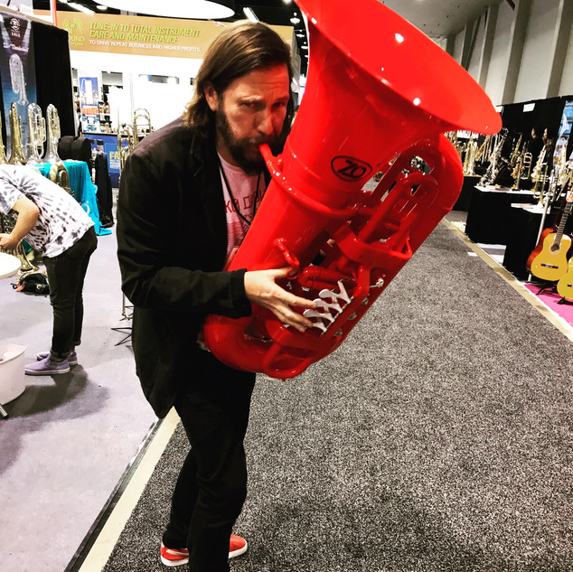 Out Of Breath - NAMM.JPG