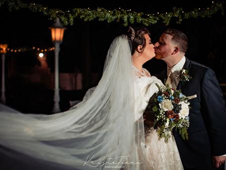 Alyssa and Josh's Winter Wedding