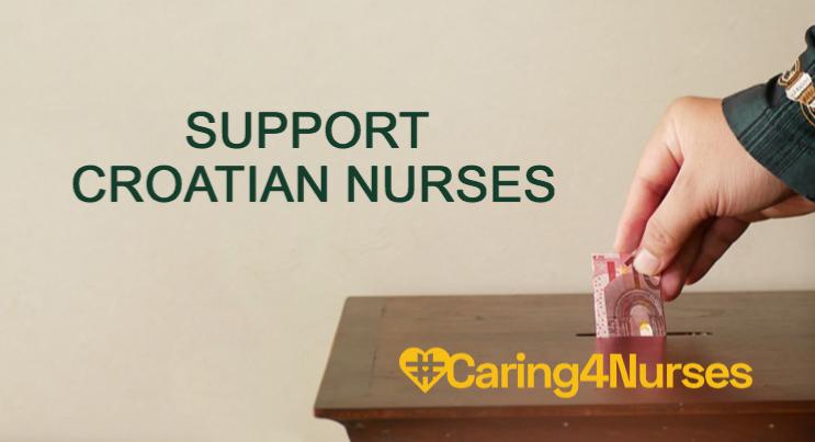 Caring for Croatian Nurses in Earthquake Epicentre