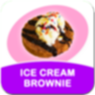 square_pop_up - cook - ice cream brownie