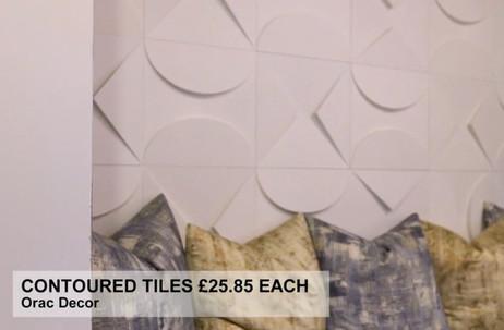 CONTOURED TILES £25.85 EACH