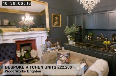 BESPOKE KITCHEN UNITS £22,200