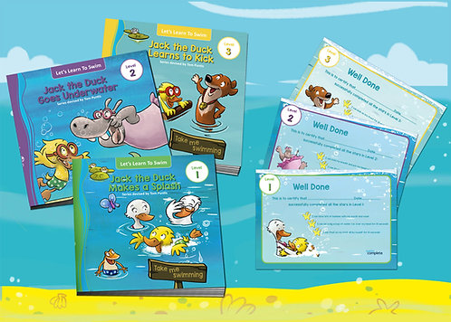 Buy all 3 books and certificates only