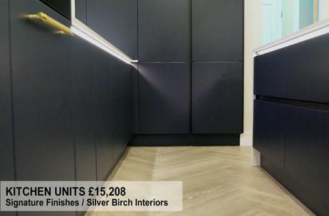 KITCHEN UNITS £15,208
