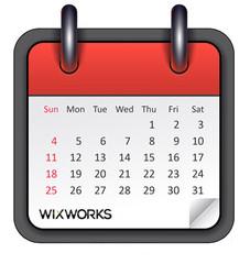 wix website calendar