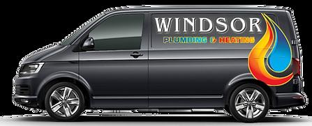 Plumbing and Heating Services Van