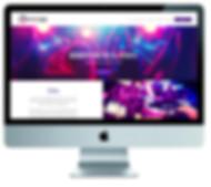 wix website design for DJ