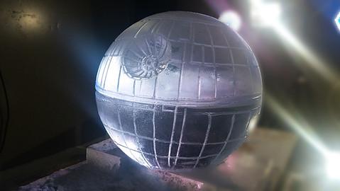 Death Star Vodka Luge