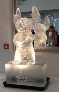 Lilo & Stitch Ice Sculpture Vodka Luge