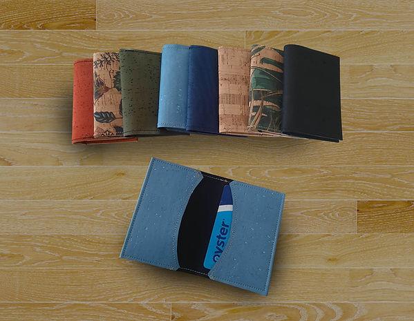 handmade cork wallets