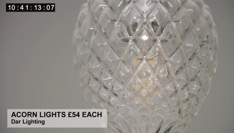 ACORN LIGHTS £54 EACH