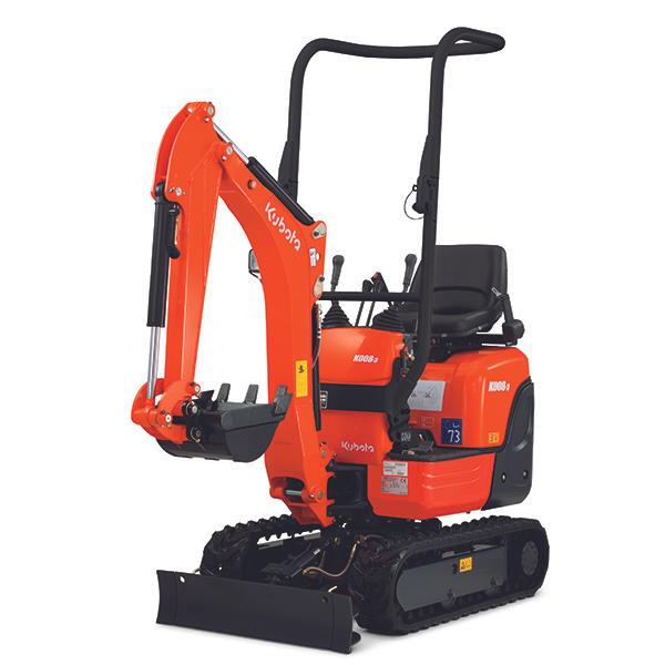 K008-3 Micro Excavator