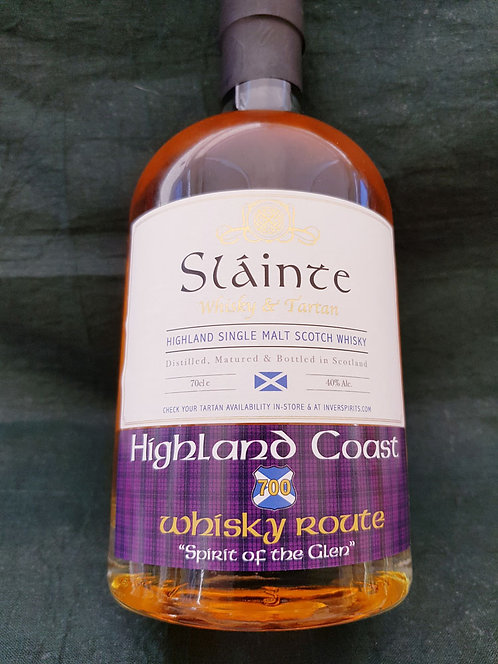 Highland Coast 700 Whisky Route 70cl