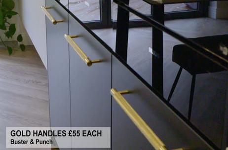 GOLD HANDLES £55 EACH