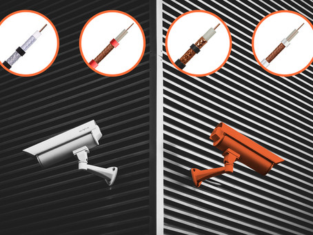 Demand for CCTV cable has soared: here's why choosing the right cable can help keep buildings safe.