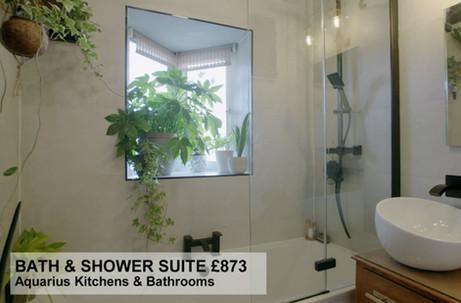 BATH & SHOWER SUITE £873