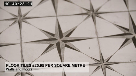 FLOOR TILES £25.95 PER SQUARE METRE