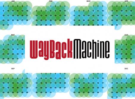 The Wayback Machine - Internet time travel?