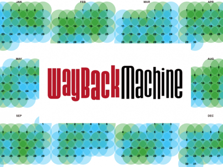 The Wayback Machine - Internet time travel?