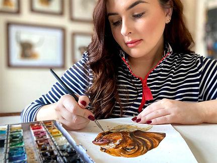 Watercolour Pet Artists