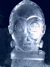 C3P0 Star Wars Vodka Luge