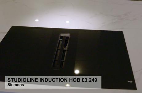 STUDIOLINE INDUCTION HOB £3,249