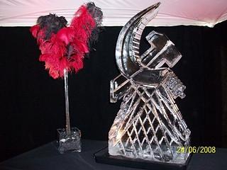 Hammer and Sickle Vodka Luge