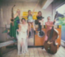 all girl band hire