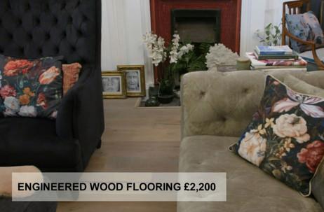 ENGINEERED WOOD FLOORING £2,200