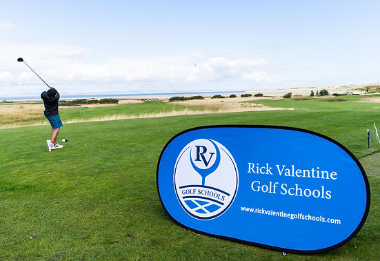 First tee at the Rick Valentine Golf Camps St Andrews