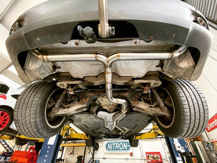 BMW X5 DPF Delete & Exhaust
