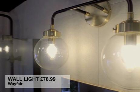 WALL LIGHT £78.99