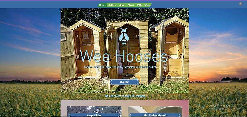 old wix website design