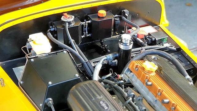 Caterham R500 Evolution fabricated parts