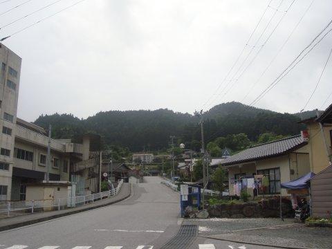 震災前の駅前通り