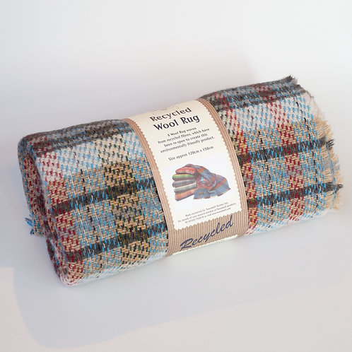 Tweetmill recycled wool picnic rug medium