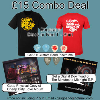 Combo Merch Deal £15