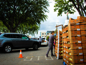 NVCS continues its unwavering support for the SFV community through its weekly Drive-Thru Pantry
