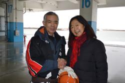 soma fishermen coop rescue volunteer leader, linda.JPG