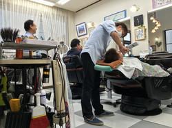 odaka kato barber and son together work.JPG