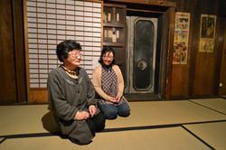 murata kura interior two women interview.JPG