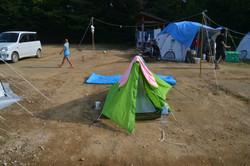 onagawa linda my pup tent.JPG
