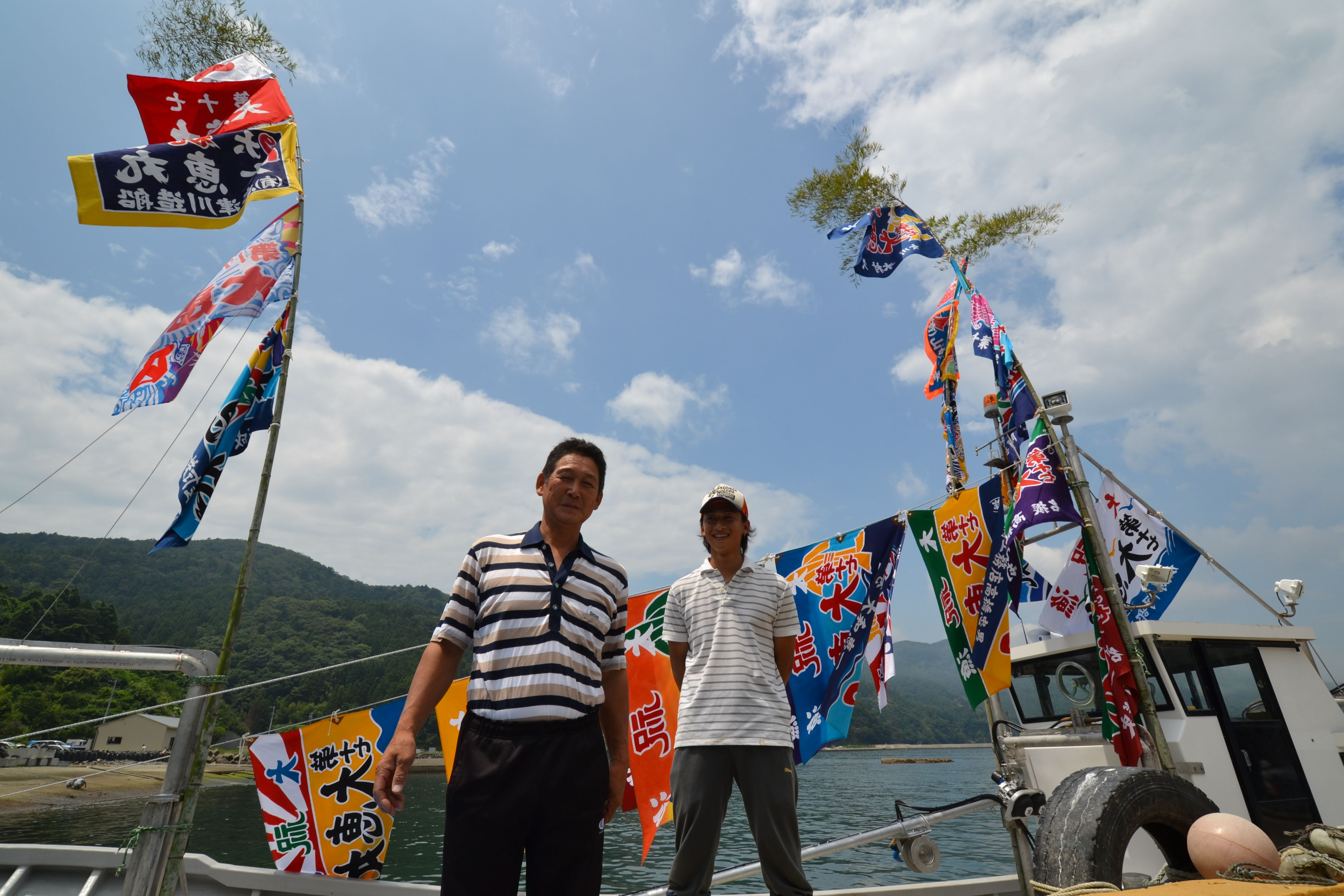 naburi fisherman and son launch restored fishboat.jpg