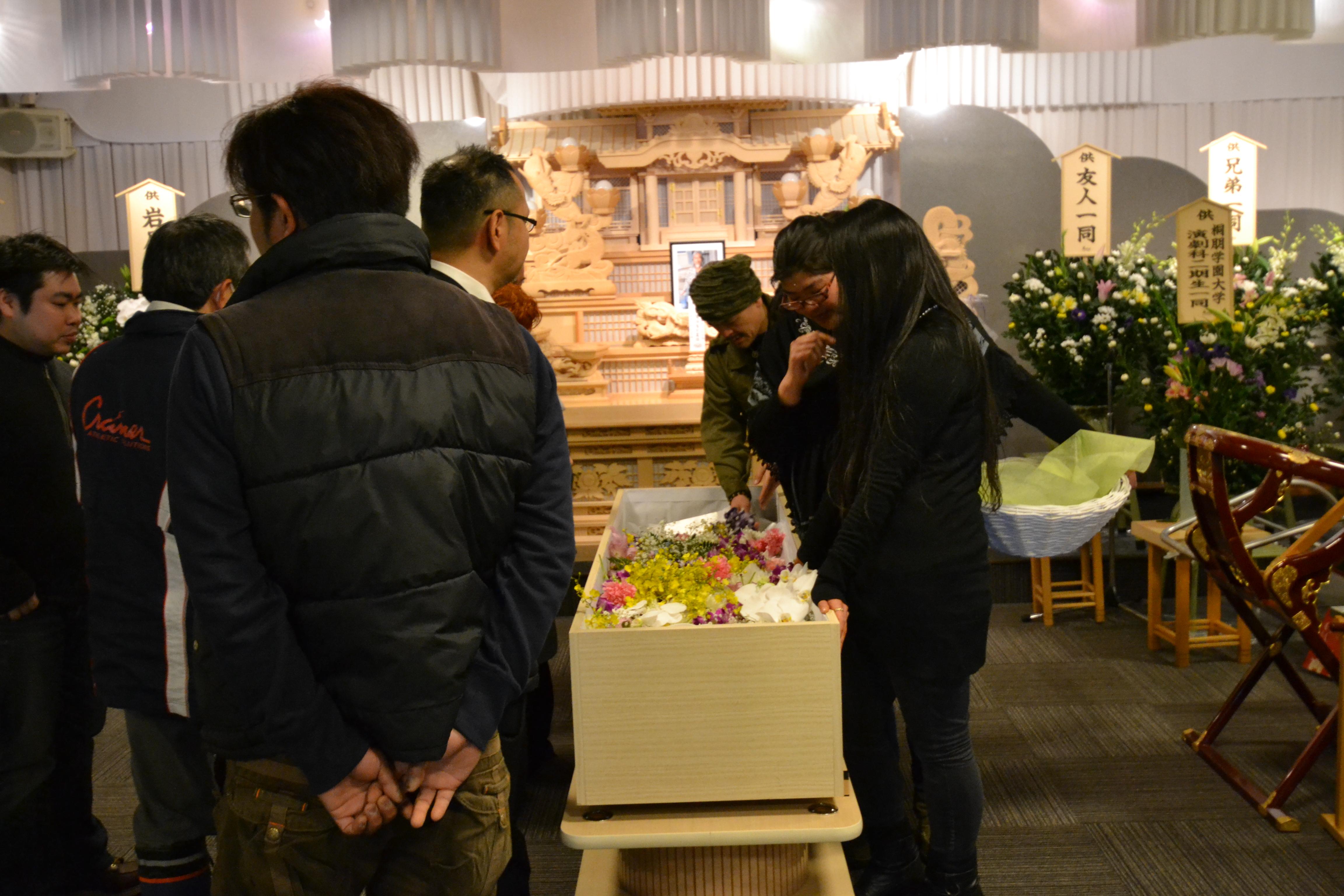 minamisoma kenji coffin funeral.JPG