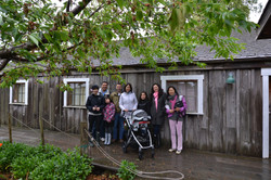 obaachan's garden & house four generations.JPG
