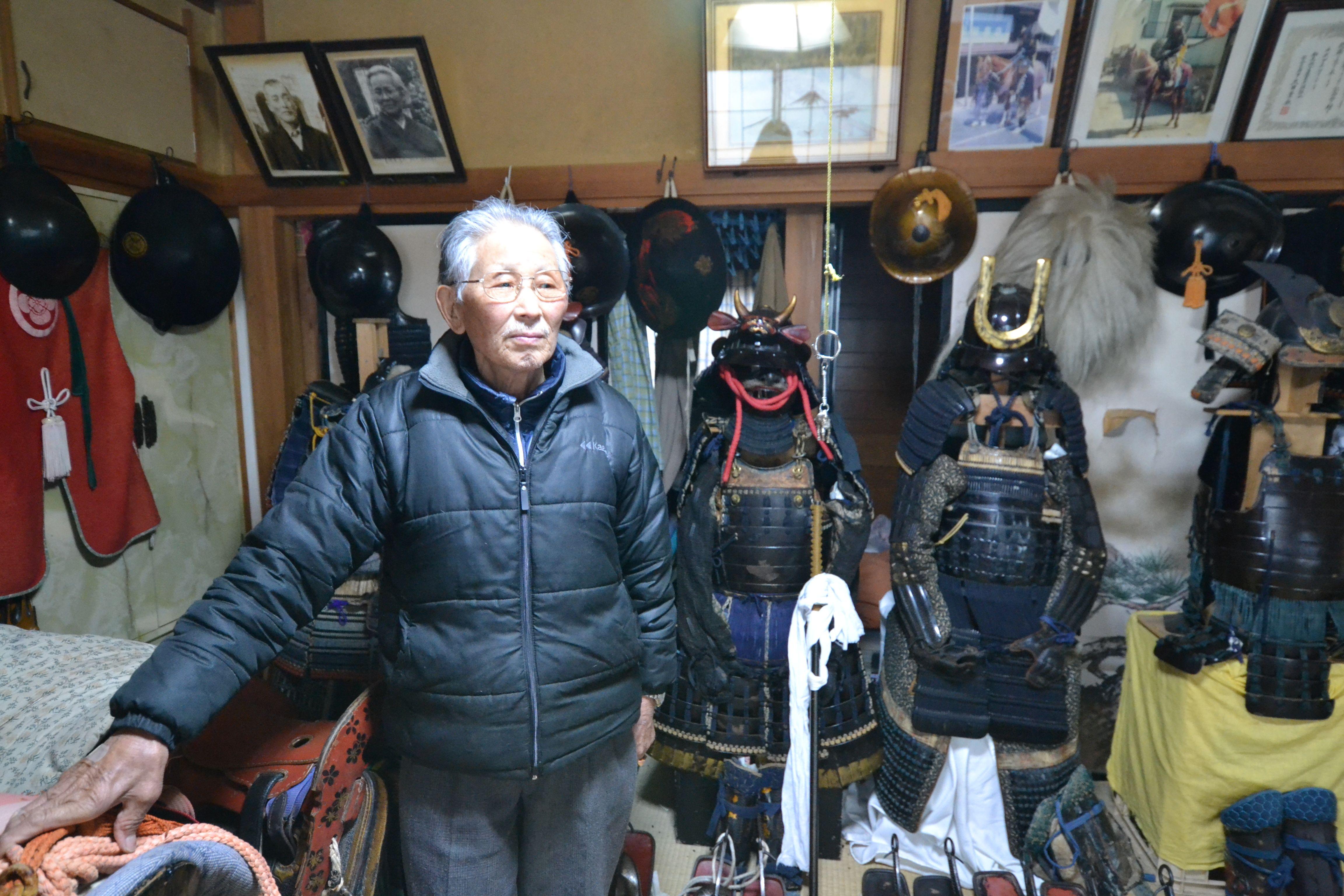 minamisoma samurai at home with samurai spirits.jpg