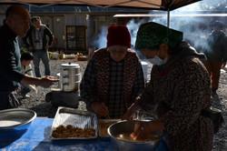 minamisinriku making mochi with refugees for new years.JPG