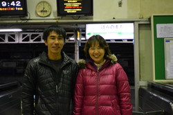 minamisoma radiation reader and nurse .JPG