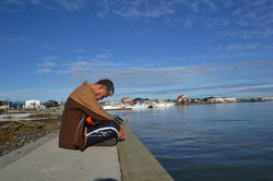 watari fishdock ohashi reflecting head down.JPG