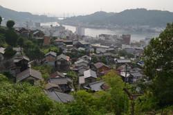 onomichi from senkoji obayashi fav spot over houses.JPG